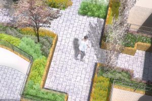 Davis Landscape Architecture, Chadwell Street Residential Landscape Architect's Design for Planning