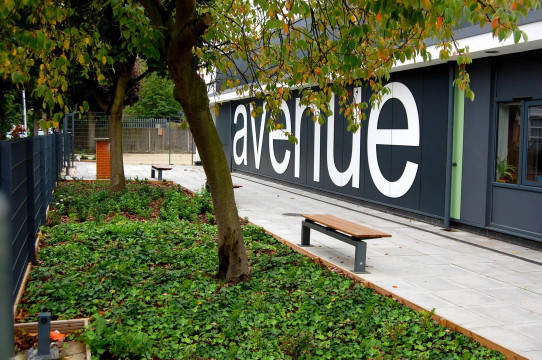 Avenue Primary School London Landscape Architect Complete Building Frontage Planting