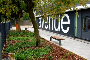 Davis Landscape Architecture Avenue Primary School London Landscape Architect Complete Building Frontage Planting