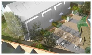 Davis Landscape Architecture 1 Clyde Road Residential Landscape Rendered Visualisation Icon