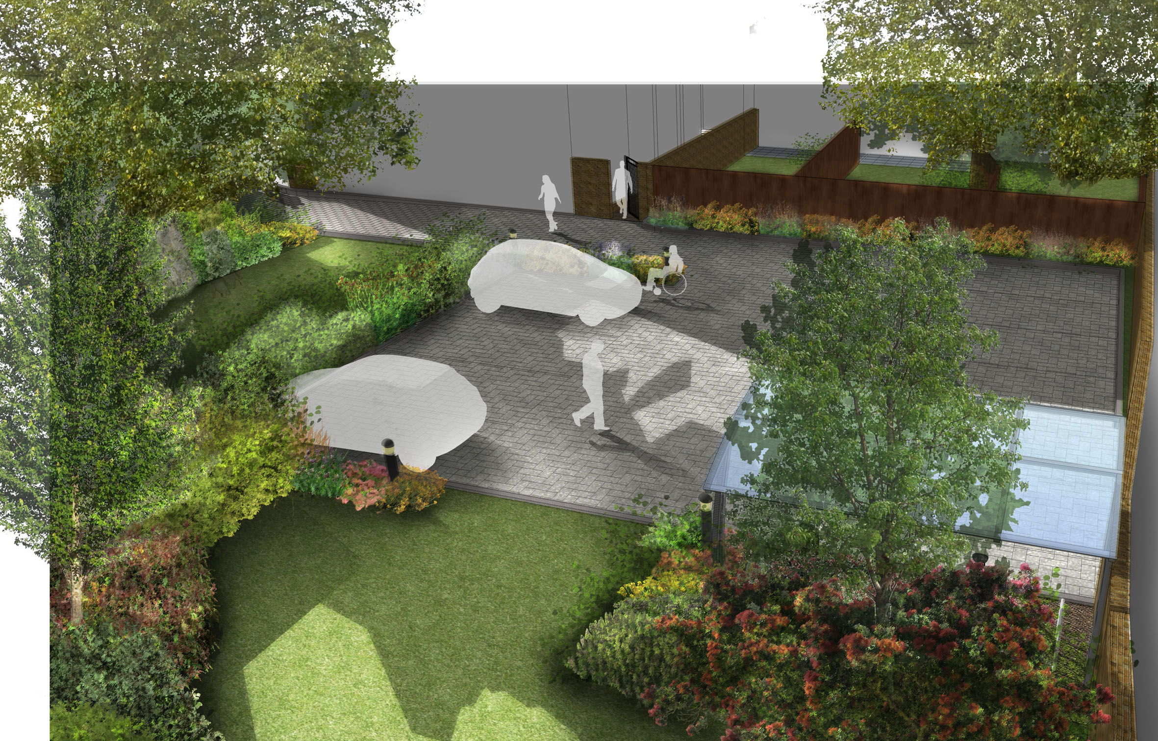 Davis landscape architecture little heath woolwich for Residential landscape architecture
