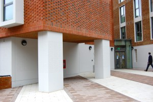 Davis Landscape Architecture Ravenscourt House London Student Accommodation Landscape Architect Complete Entrance Space
