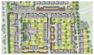 Davis Landscape Architecture 1 Star Lane Ph 1 Great Wakering Home Zone Residential Landscape Rendered Masterplan Icon