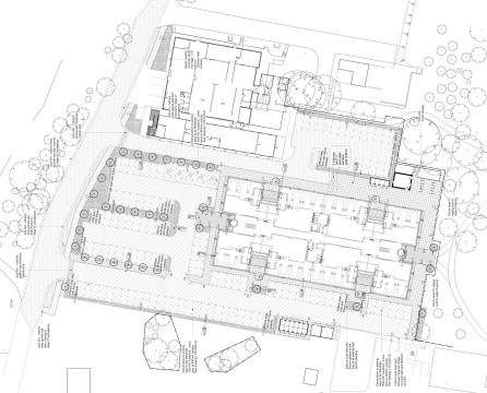 Davis Landscape Architecture Chesterford Research Park Science Village Landscape Architect Complete Technical Plan