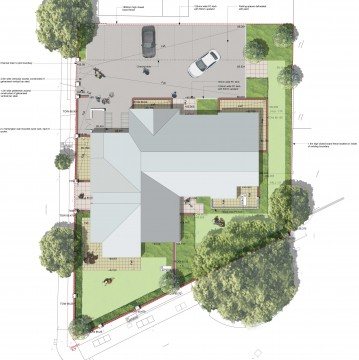 Davis Landscape Architects High Road London Residential Landscape Architect Design Plan Planning