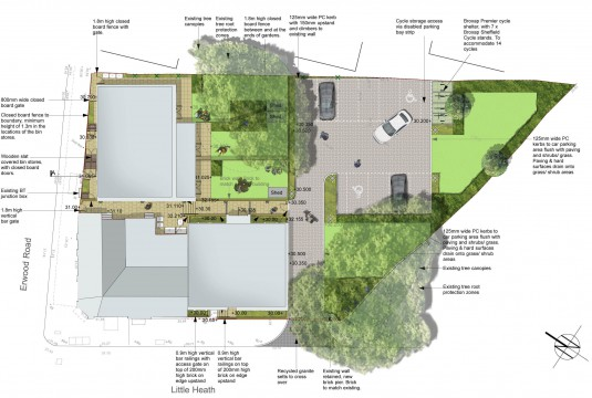 Davis Landscape Architects Little Heath Residential Landscape Architect Design Plan Planning