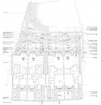 Davis Landscape Architects Belsize Park London Residential Landscape Architect Technical Plan