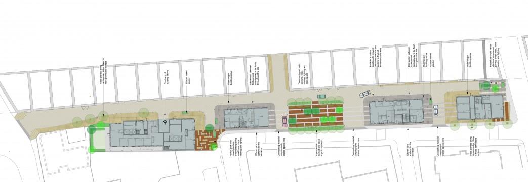 Davis Landscape Architects Crown Street London Home Zone Mixed Use Public Realm Residential Landscape Design Architect Plan Planning