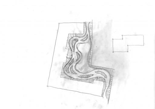 Davis Landscape Architects Gutenborg, Russia Residential Landscape Architect Concept Sketch Diagram