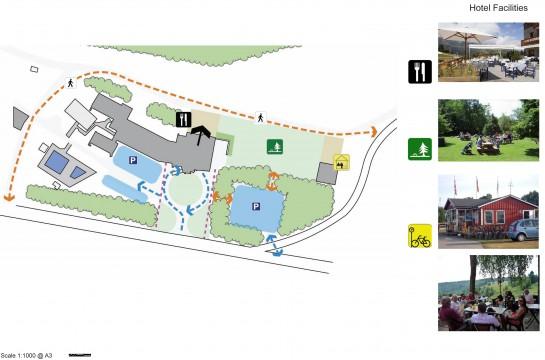 Davis Landscape Architects Hotel Neptune Czech Republic Landscape Design Architect Concept Proposal Hotel Parking