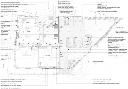 Davis Landscape Architects Little Heath Residential Landscape Design Architect Technical Plan