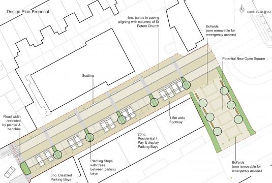 Davis Landscape Architects Liverpool Grove London Public Realm Landscape Architect Design Feasibility Study Plan