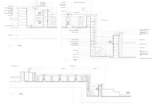Davis Landscape Architects Belsize Park London Residential Landscape Architect Technical Section