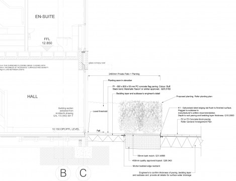 Davis Landscape Architects Clyde Road Residential Landscape Architect Technical Detail