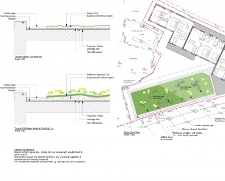 Davis Landscape Architects Iverson Road London Residential Landscape Architect Design Green Roof Planning