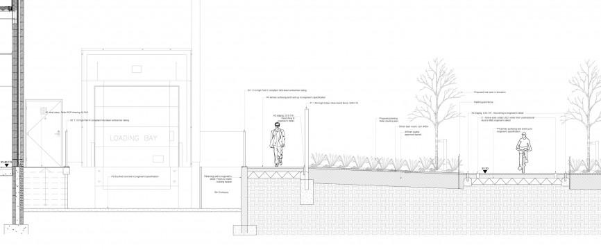 Davis Landscape Architects Witham Commercial Landscape Design Architect Technical Section
