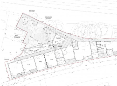Davis Landscape Architects Iverson Road London Residential Landscape Design Architect Technical Plan