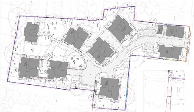 Davis Landscape Architects Tyson Road London Residential Landscape Architect Design Technical Plan