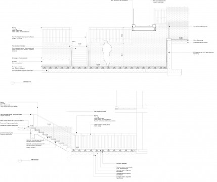Davis Landscape Architects Iverson Road London Residential Landscape Design Architect Technical Section