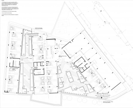 Davis Landscape Architects Ravenscout House London Student Accommodation Landscape Design Architect Technical Plan
