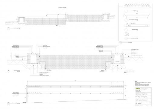 Davis Landscape Architects East Village Marketing Suite London Public Realm Landscape Architect Technical Section