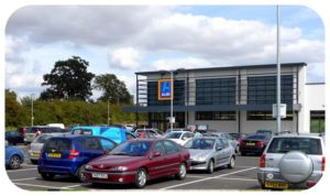 Davis Landscape Architecture Aldi Witham Essex Commercial Landscape Architect Car Park Icon