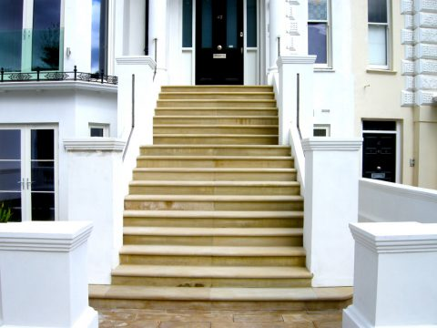 Davis Landscape Architecture Belsize Park London Residential Landscape Architect Entrance Steps