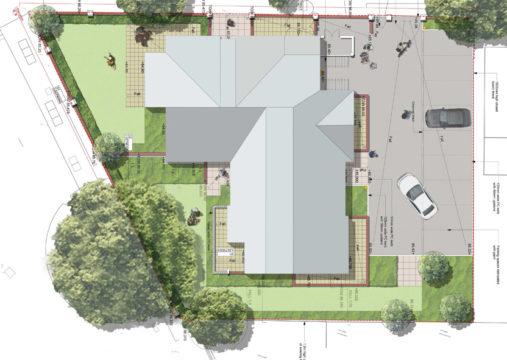 Davis Landscape Architecture High Road London Residential Residential Landscape Architect Technical Construction Plan