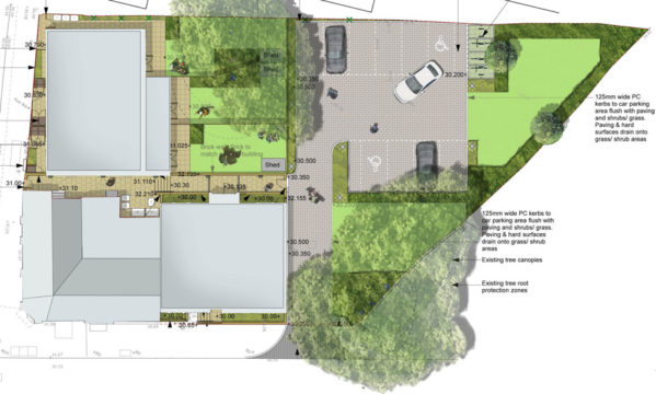 Davis Landscape Architecture Little Heath Residential Landscape Architect Plan Planning