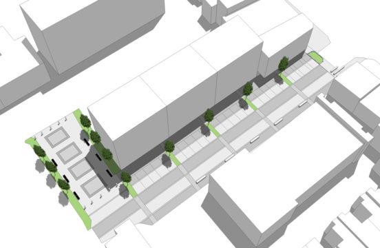 Davis Landscape Architecture - Liverpool Grove London Public Realm Landscape Feasibility Study Model 2