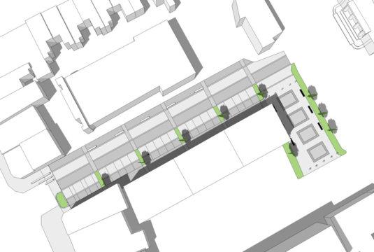 Davis Landscape Architecture - Liverpool Grove London Public Realm Landscape Feasibility Study Model 3