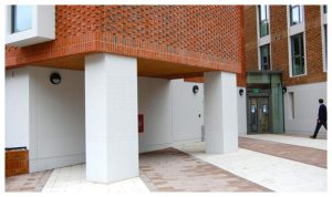 Davis Landscape Architecture 1 Ravenscout House London Student Accommodation Landscape Complete Entrance Space Icon