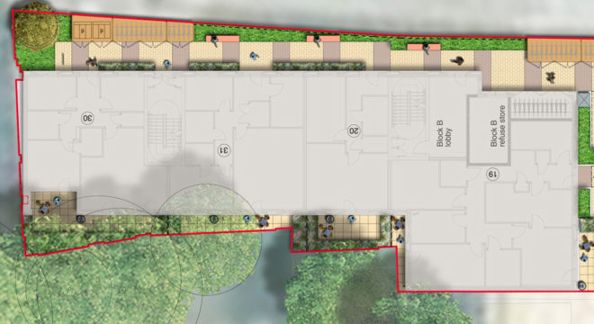 Davis Landscape Architecture Bow Road London Home Zone Residential Landscape Architect Technical Plan B