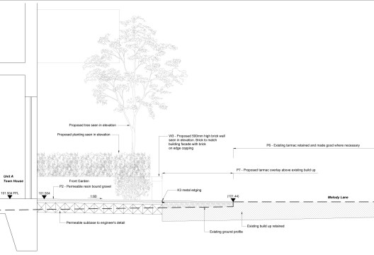 Davis Landscape Architects Highbury Grove London Shared Space Residential Landscape Architect Technical Detail Planning