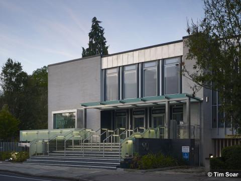 Davis Landscape Architecture Hills Road Cambridge Commercial Office Landscape Design Architect Image Day