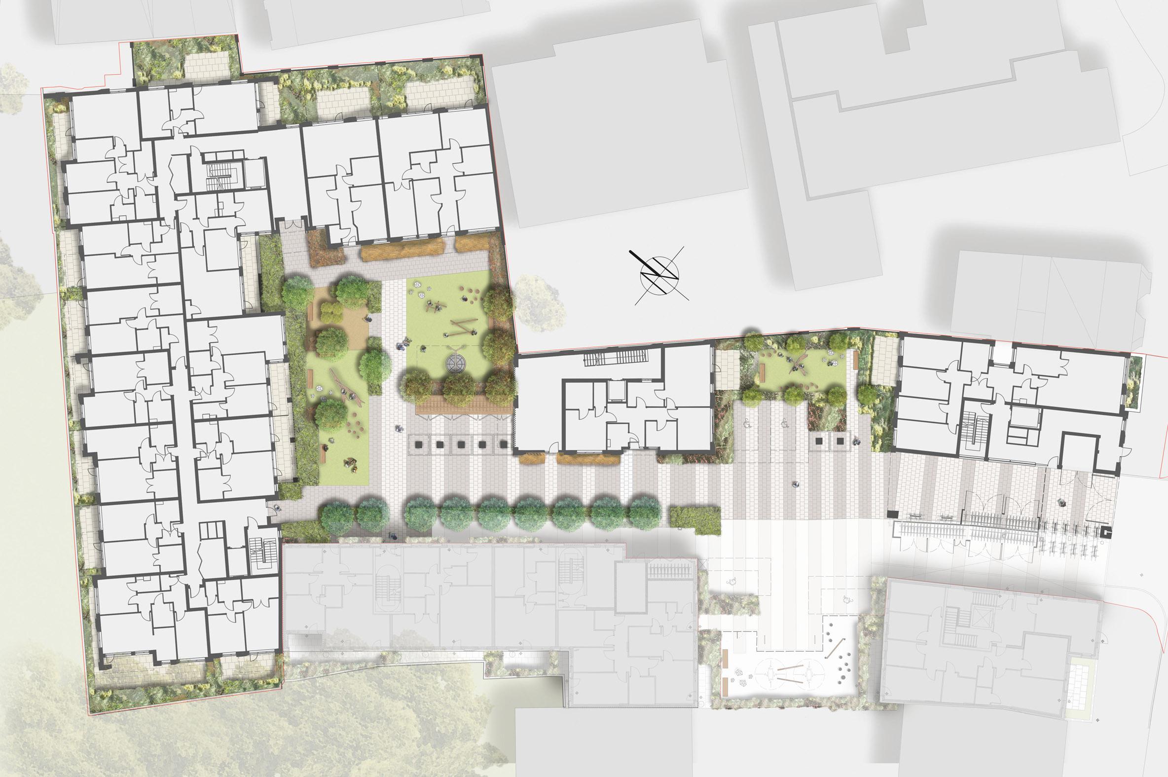 Bow road landscape design davis landscape architects for Outer space design landscape architects