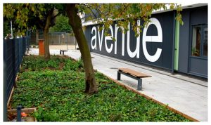 Davis Landscape Architecture 1 Avenue Primary School London Landscape Complete Building Frontage Planting Icon