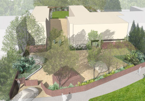 Davis Landscape Architecture Addiscombe Road Landscape Architects Visualisation Perspective