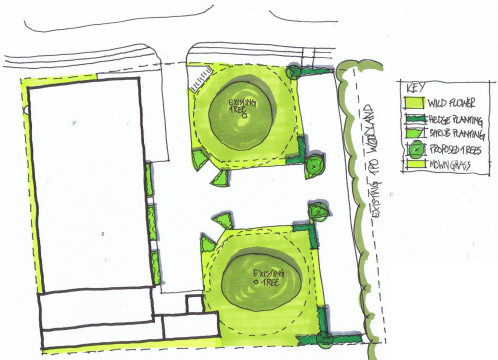 Davis Landscape Architecture Chelmsford Business Park Plots K Landscape Architect Sketch Plan