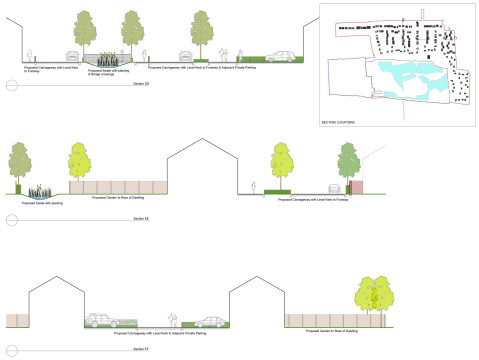 Davis Landscape Architecture Star Lane Ph2 Residential Landscape Architects Design Sections Swale Outline Planning