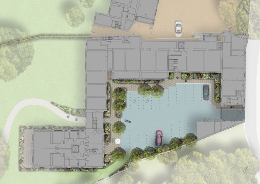 Davis Landscape Architecture Holcombe House London Residential Landscape Architect Design Rendered Detailed Plan Planning