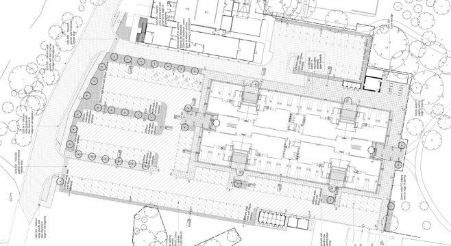 Davis Landscape Architecture 2 Chesterford Research Park Science Village Landscape Technical Construction Plan