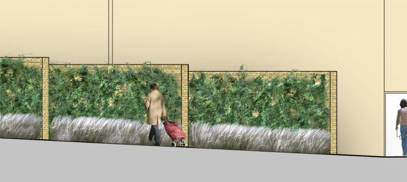 Davis Landscape Architecture Chequers Court Huntingdon Public Realm Landscape Architect Elevation Planning B