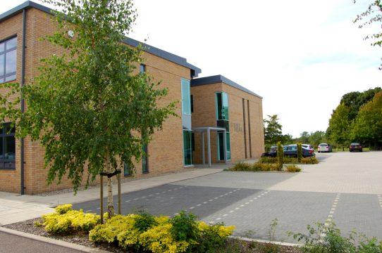 Davis Landscape Architecture Chesterford Research Park Science Village Landscape Architect Building Entrance