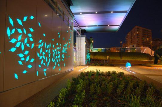 Davis Landscape Architecture East Village Marketing Suite London Public Realm Landscape Architect Entrance Planting Lighting