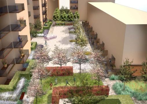 Davis Landscape Architecture Sarena House Silver Works Residential Landscape Architect Design Visualisation Planning