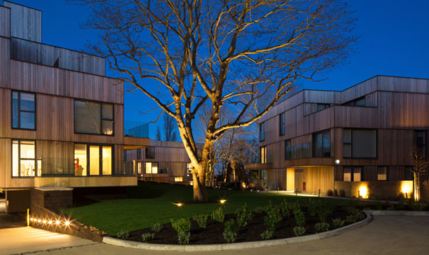 Davis Landscape Architecture Churchwood Gardens Tyson Road Forest Hill London Residential Housing Architect Existing Tree