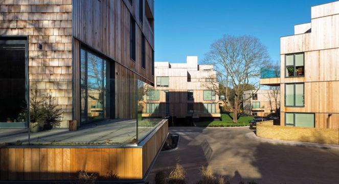 Davis Landscape Architecture Churchwood Gardens Tyson Road Forest Hill London Residential Housing Architect Site access