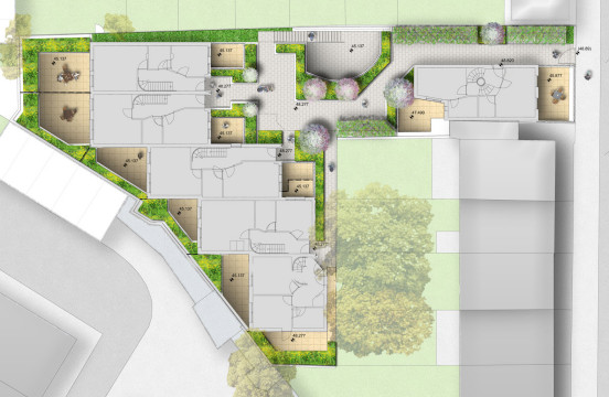 Davis Landscape Architecture Chadwell Street Residential Landscape Architect Design Rendered Plan Planning