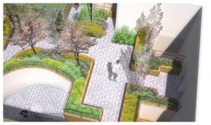Davis Landscape Architecture Chadwell Street Residential Landscape Architect Design Rendered Visualisation Planning Icon